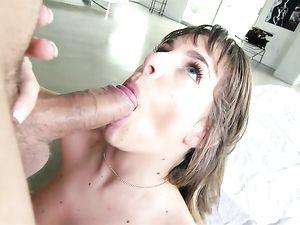 Happy Hottie Fucked Hard By His Big Dick
