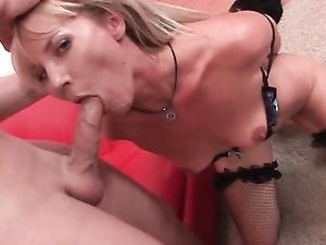 Fisting And Fucking Blonde Babe's Asshole