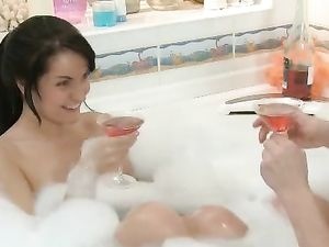 Banging In The Bubble Bath With The Girl Next Door