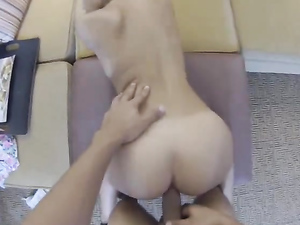 Brunette Teen Gets Fucked While Being Recorded In Pov