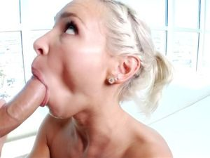 Getting Fucked By His Huge Boner After Sucking