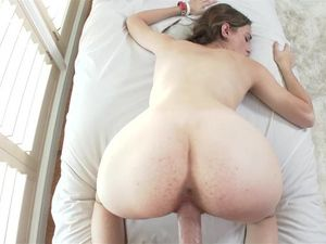 Teen Cutie With Glasses Is Crazy For His Big Cock