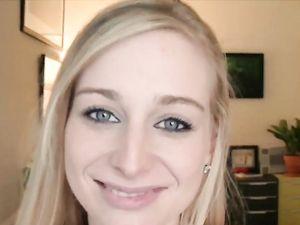Cumshot On The Tongue Of Sexy Stacie Jaxxx
