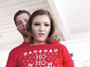 Sex With His Stepsister Is A Perfect Christmas Gift