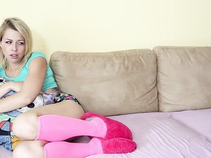 Conquering The Tight Asshole Of This Blonde Teen