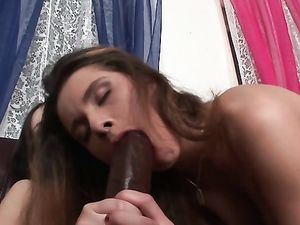 Sucking And Fucking With A Huge Strap On