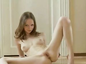Breathtaking Solo Striptease From A Bra And Panty Beauty